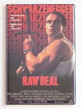 Raw Deal FRIDGE MAGNET (2 x 3 inches) movie poster arnold schwarzenegger