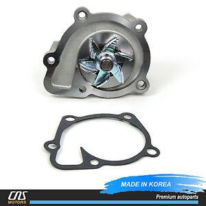 NEW Water Pump Fits 10-14 Hyundai Sonata Kia Optima Sorento 2.4L OEM 25110-2G510