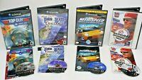 Nintendo Wii 4 Game Lot, Pro Bass Challenge, Top Gun, Need Speed 2, Nascar 2003