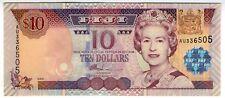 **   FIDJI     10  dollars   2002   p-106a    UNC   **