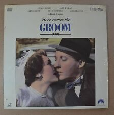HERE COMES THE GROOM (1951, B&W)  LASERDISC   NEW