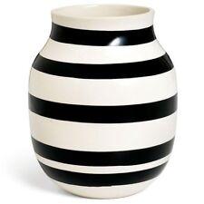 Kähler Design Vase Omaggio Schwarz (20cm)