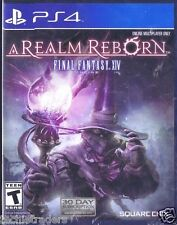 Final Fantasy XIV Online: A Realm Reborn (Sony PS 4, 2014)   Factory Sealed