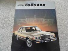 1982 Ford Granada Sales Brochure