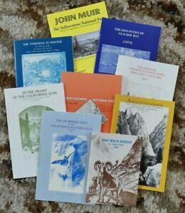 John Muir book medley--9 titles in one lot