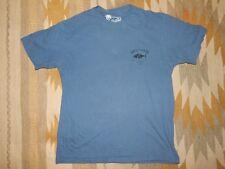 Quicksilver Men's L Watermen's Collection Blue S/S Cotton Shirt