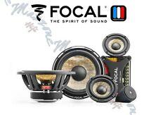 FOCAL PS 165 F3 EXPERT KIT 3 WAY 160W WOOFER 165mm MIDRANGE 80mm TWEETER