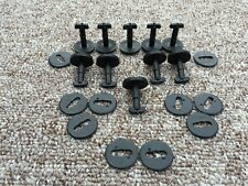 MINI COOPER INTERIOR FLOOR CARPET MAT CLIPS - TWIST LOCK WITH WASHERS 10PCS