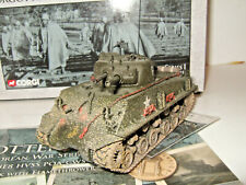 Corgi US51003 M4 A3 E8 Sherman Tank with Flamethrower US Marines in 1:50 Scale.