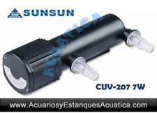 SUNSUN CUV-207 7W ULTRAVIOLETA UV ELIMINA ALGAS ACUARIOS ESTANQUES ESTERILIZADOR