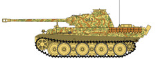 TAMIYA HENGLONG IMEX TAIGEN 1/16 LATE PANTHER G TANK DECALS – EAST - NEW!!!