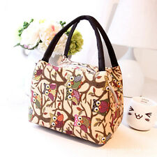 Fashion Thermal Insulated Tote Picnic Lunch Cool Bag Cooler Box Handbag Pouch