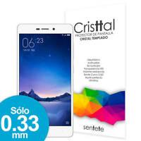 Sentete® Xiaomi Redmi 3 Protector de Pantalla de Cristal Templado PREMIUM