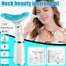 LED Photon Therapy Neck Massager Safe Face Lifting Tool Vibration
