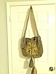 Hobo Hippie Sling Crossbody Bag beautiful in great condition really nice!
