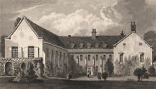 The Friars (Aylesford Priory). Kent. The seat of Lord Aylesford. SHEPHERD 1829