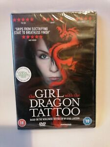 THE GIRL WITH THE DRAGON TATTOO - DVD - WORLDWIDE BEST SELLER - BIRTHDAY GIFT
