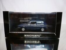 MINICHAMPS 54100 VW VOLKSWAGEN GOLF II GL 1985 - BLUE 1:43 - VERY GOOD IN BOX