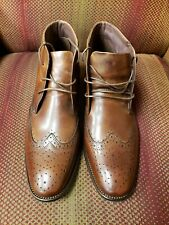 Mens Jones Bootmaker Bowman Brown Lace up Boots