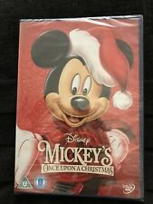 MICKEY'S ONCE UPON A CHRISTMAS DISNEY DVD