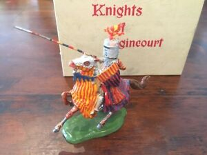 Britains Knights Of Agincourt Series - Mounted Lead Knight - Box No.9495 - 1960s