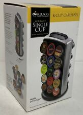 Keurig Kcc-30 K-Cup Carousel~Holder~Storage~O rganizer~Holds 30 Pods~Exc Cond