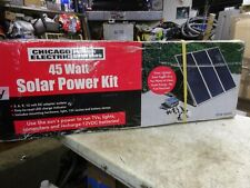 Chicago Electric 45 Watt Solar Panel Kit Model 90599 Nib