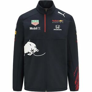 Red Bull Racing F1 Kids 2021 Team Softshell Jacket- Youth Navy