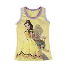 Disney Princess Beauty and the Beast Lacy Sleeveless Cotton Top