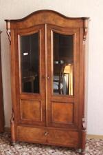 Schrank Glasvitrine Biedermeier Vitrine  Louis Phillipe 1860 restauriert  #2286
