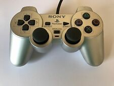 Ps2 original Controller plata DualShock 2 Sony PlayStation 2 SCPH - 10010