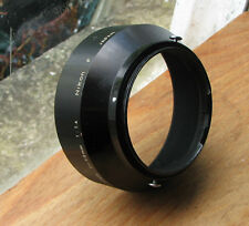 genuine earlier nikon F lens hood for 50mm 58mm 1.4 52mm screw clip in ( japan)