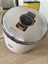 Motorola Moto 360 Rose Gold Smartwatch Brand New 42mm Womans