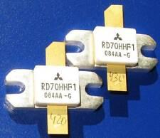 "A pair of matched RD70HHF1 ""Original"" Mitsubishi RF MOSFET Transistor (2pcs)"