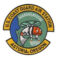 "U.S. Coast Guard Air Station Astoria, Oregon MILITARY patch - ""SEARCH & RESCUE"""