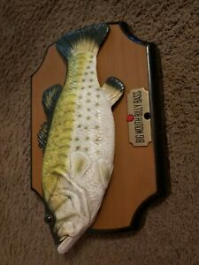 Big Mouth Billy Bass The Singing Sensation 🎶 Tested & Working Sings 2 Songs �