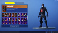 Fortnite Account MERRY MARAUDER + BLACK KNIGHT [PC PS4 XBOX][Read desc]