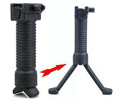 Tactical Fore Grip w/ Bipod Pod Picattinny Weaver Rail - U.S SELLER