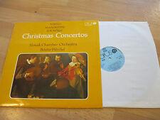 LP Christmas Concertos Torelli Manfredini Locatelli Vinyl OPUS 9111 0431