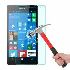 2x Premium Real Ultra Clear Tempered Glass Lcd Screen Protector For Lumia 850