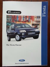 FORD FIESTA FINESSE orig 1995 UK Mkt sales brochure