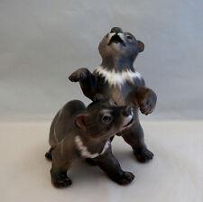 Dahl Jensen brown bear #1344 figurine Denmark