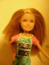 Barbie's sister Stacie - long blonde hair; Malibu Beach dress; yellow shoes