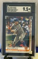2019 Topps 150th Anniversary Update Pete Alonso NY Mets Rookie #US198 SGC 9.5