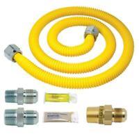 BrassCraft Safety+PLUS Gas Installation Kit for Range, Furnace and Boiler (106,0
