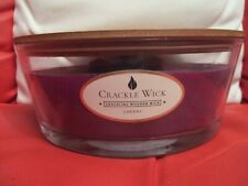 CRACKLE WICK CANDLE 485g  CHERRY Crackling Wooden Wick