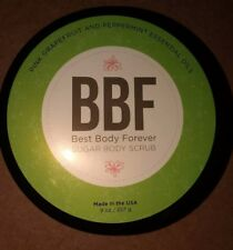 Perfectly Posh BBF Best Body Forever Sugar Body Scrub RARE grapefruit peppermint
