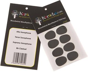Woodwind Mouthpiece Patch Set of 8 - Saxophone & Clarinet Patches