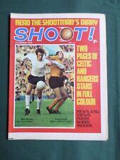 SHOOT - MAGAZINE- 31 MAR 1970 - MIKE ENGLAND - CELTIC / RANGERS - JOHNNY VINCENT