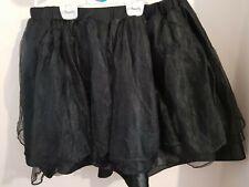 George Asda Tutu Black Skirt Fancy Dress Size 16-18